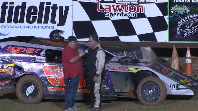 Usra Modified A-main At Lawton Speedway 9-29-18