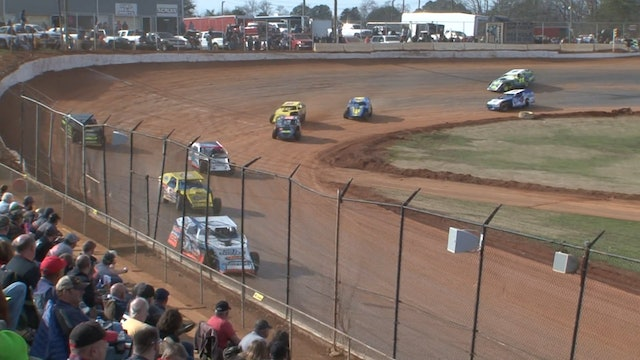 Modified B-Mains Hangover 411 Motor Speedway 12/28/19