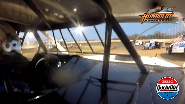 Brandon Sheppard In Car USRA Modified Humboldt Speedway 11/1/20