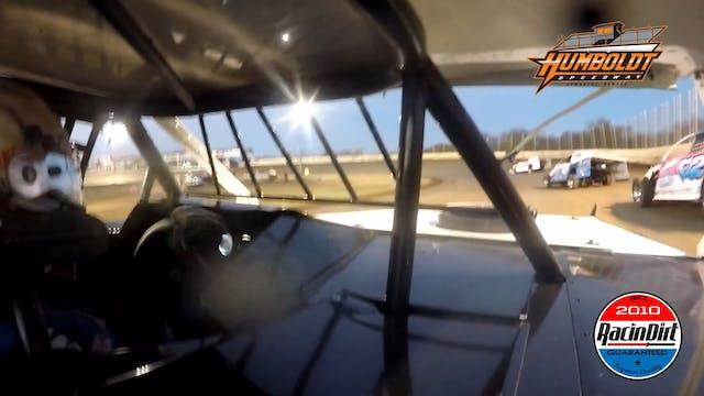 Brandon Sheppard In Car USRA Modified...