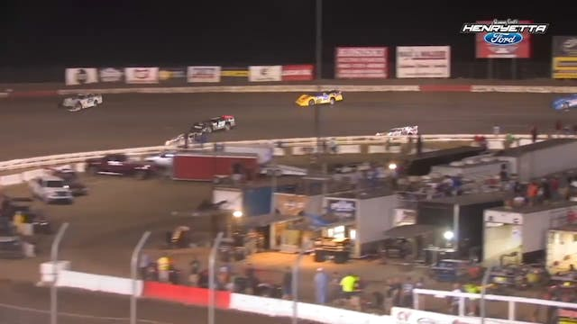 Lucas Oil Late Model A-Main I-80 Spee...