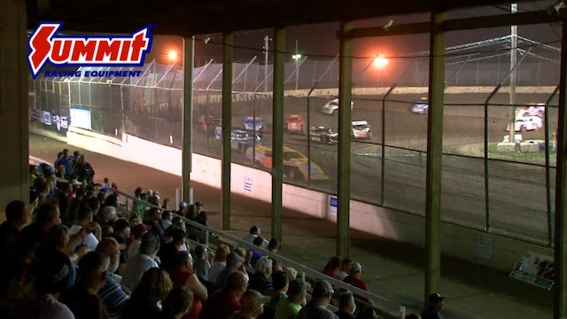 UMP Modified Nationals A-Main Kankakee County Speedway 2015
