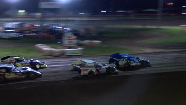 AMS Modifed Heats Farmer City Raceway...