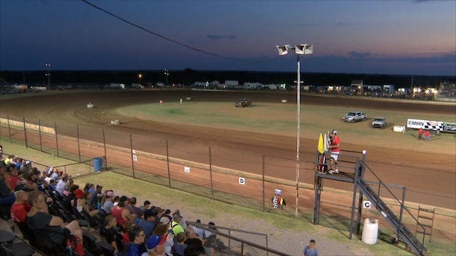 Limited Modified Heats at Lawton Speedway 8-4-18