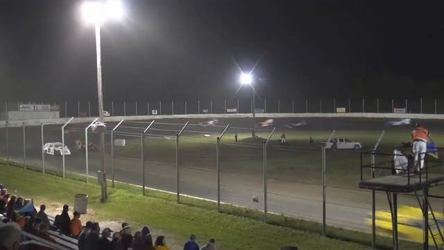 USRA Modifieds A-Main Humboldt Speedw...