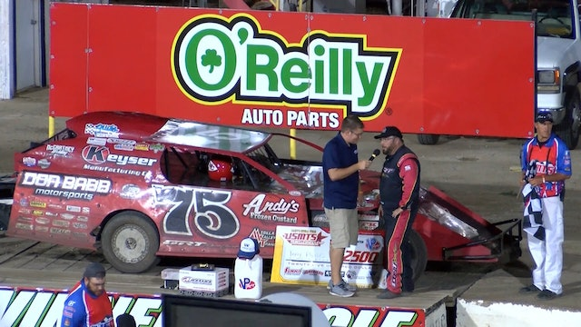 USMTS Terry Phillips 81 Speedway Post Race Interview 8/1/19