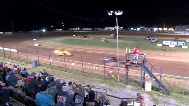 USRA Modified Heats at Lawton Speedwa...