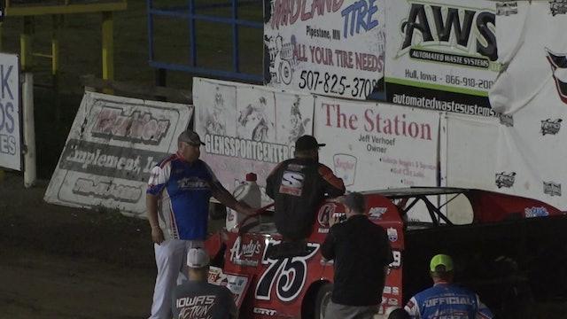 USMTS Post Race Interviews Rapid Speedway 8/23/19