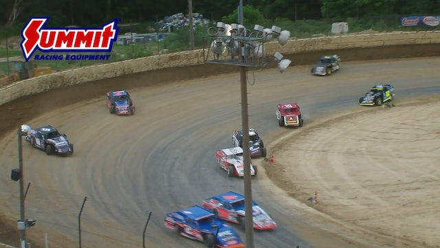 Summer Nats Mod A-Main Plymouth 6/29/17