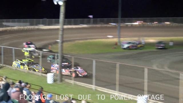Mod Mania UMP Modified Heats Tri City Speedway 9/27/18