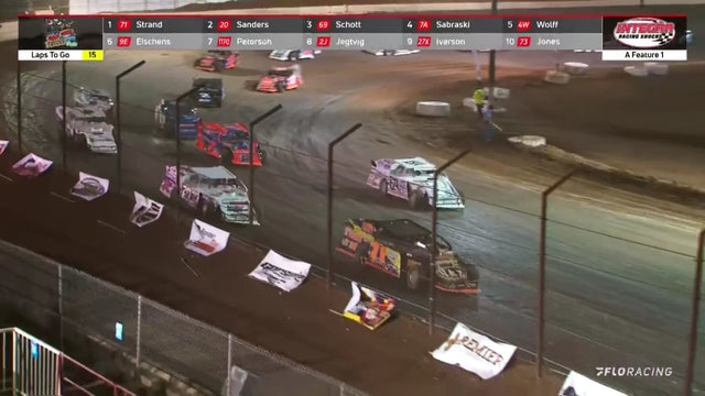 Wild West Shootout Modified A-Main Arizona Speedway 1/9/21
