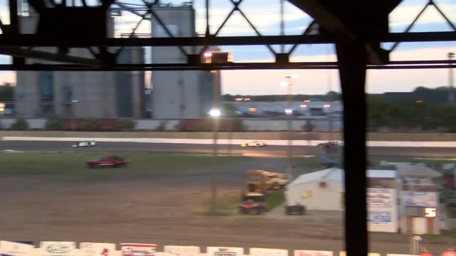 Wissota 100 Late Model Heats Dakota State Fair Speedway 9/14/16