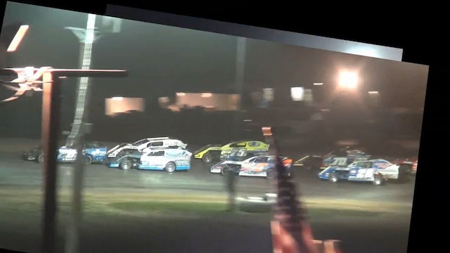 USRA Modified 20 Lap Scramble Central Missouri Speedway 7/2/17