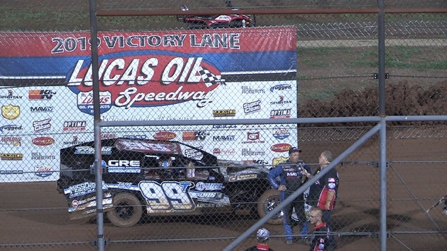 USRA B-Mod A-Main Lucas Oil Speedway 8/17/19