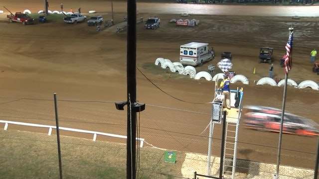 IMCA Mods I-30 Speedway Heats 3-24-18