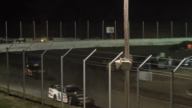 NASCAR Modified A-Main Humboldt Speedway 3/10/17