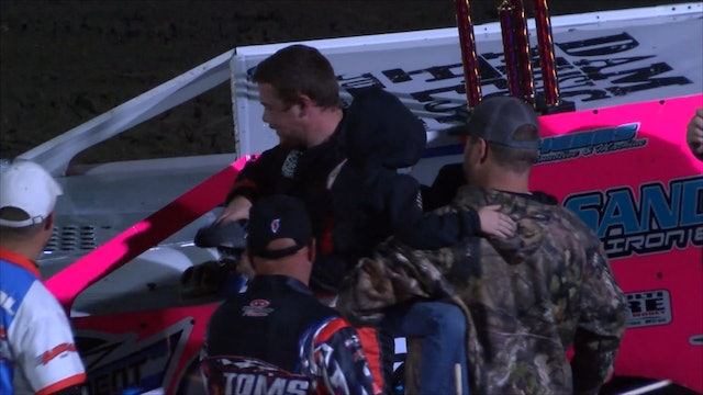 Tanner Mullens TOMS Post Race Interview Southern Oklahoma Speedway 10/19/19