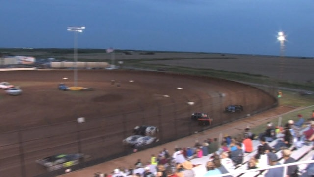 USMTS Heat Race #1 Red River Speedway 6-19-15