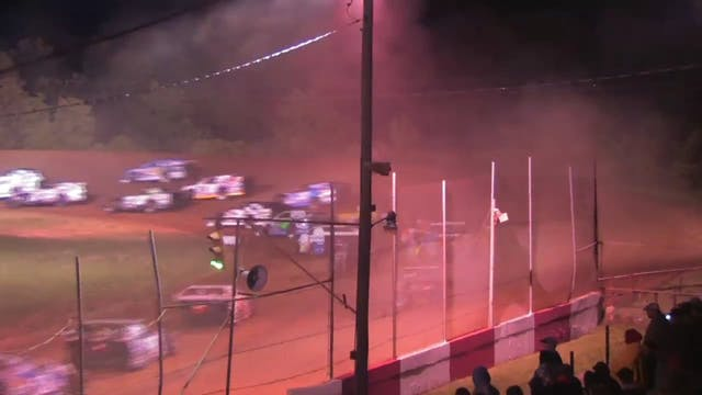 USMTS at Monett 04/22/12 A-Main Highl...