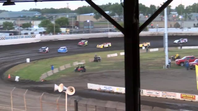 Wissota 100 Late Model Heats Dakota S...