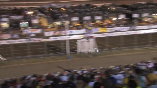 Lucas Dirt Heat Race Highlights Session 1 07/19/13