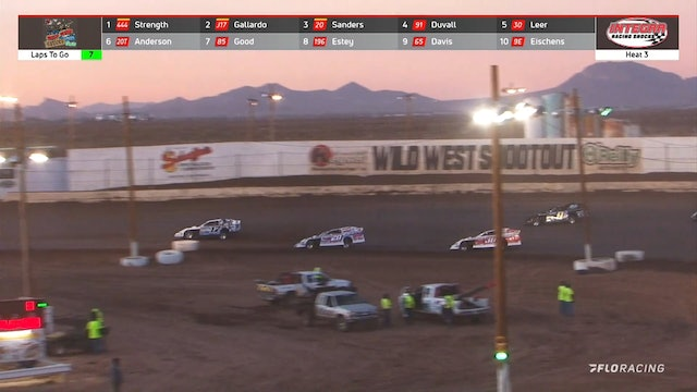 Wild West Shootout Modified Heats Arizona Speedway 1/16/21