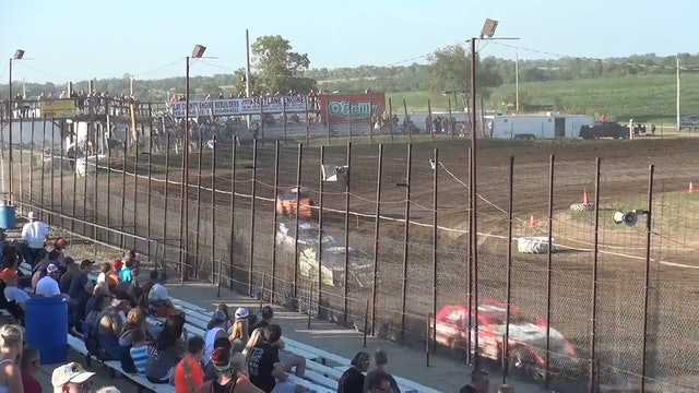 USRA Modified Make-Up A-Main 7/15/17 I-35 Speedway