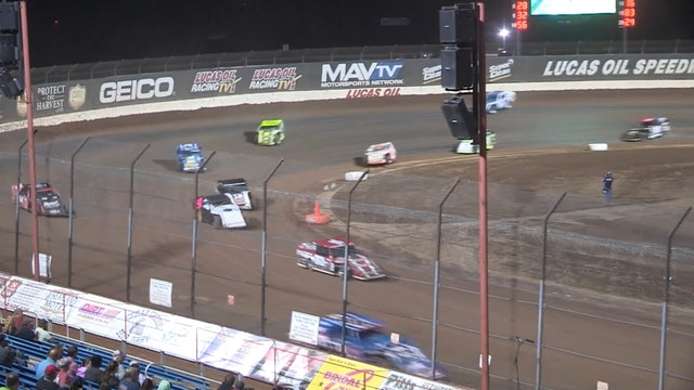 USRA B-Mod Clash A-Main Lucas Oil Speedway 10/10/20