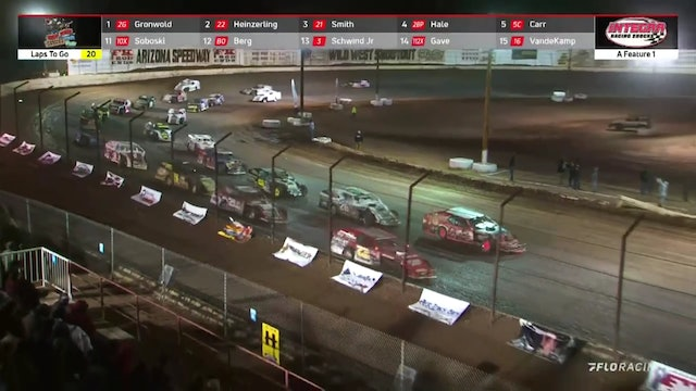 Wild West Shootout X-Mod A-Main Arizona Speedway 1/9/21