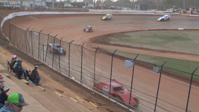 Modified A-Main Hangover 411 Motor Speedway 12/27/19