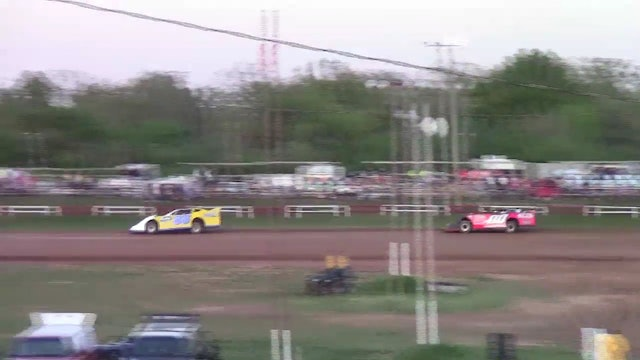 Monett Speedway Late Model A-Main 04/08/12