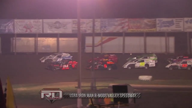 USRA Iron Man B-Mods Valley Speedway 08/09/12