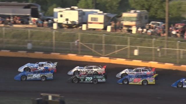 Late Model Heats Masters Cedar Lake Speedway 6/18/21