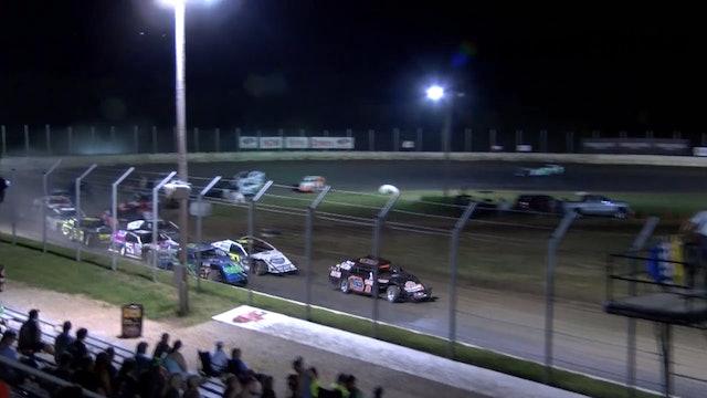 NASCAR B-Mod A-Main Humboldt Speedway 8/3/18