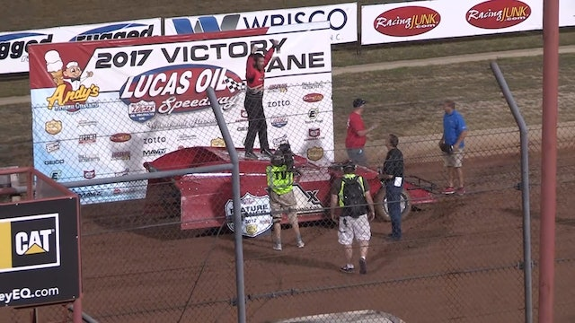 USRA Modified A-Main Lucas Oil Speedway 7/15/17