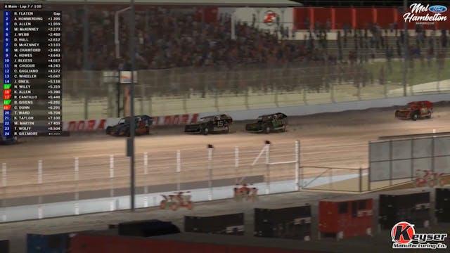 USMTS iRacing A-Main Eldora Speedway ...
