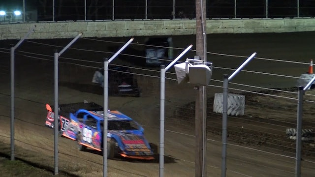 NASCAR Modified Heats Humboldt Speedway 3/2/18