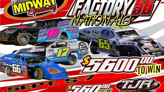 TJR Factory 56 Nationals Live Archive Midway Speedway 9/5/19