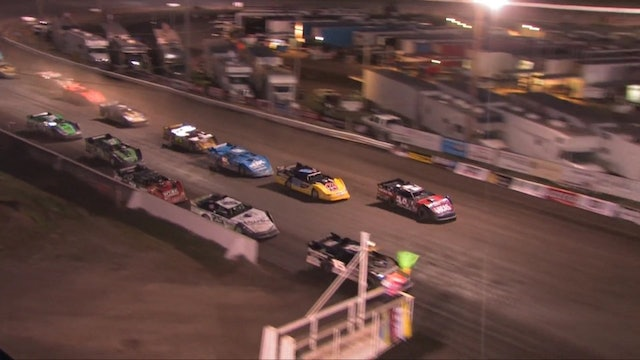 Lucas Oil Late Model A Main Highlights 7/17/13