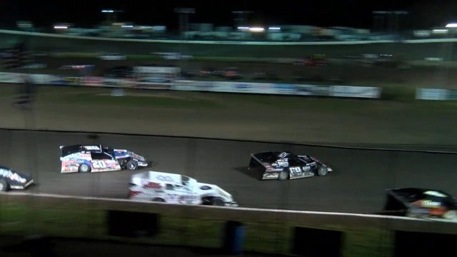USRA Modified Nationals A-Main Missisippi Thunder Speedway 9/9/17