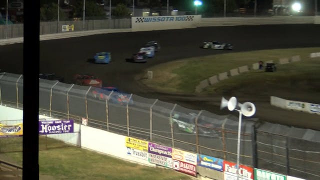 Wissota 100 Super Stock Heats 9/13/17