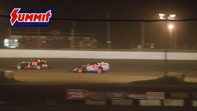 UMP Modified Nationals A-Main Oakshade Raceway 07/11/15