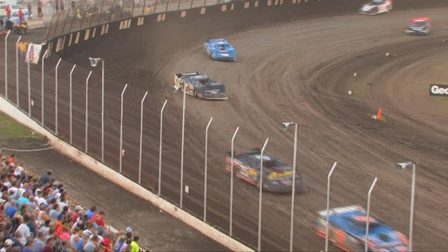 Lucas Oil Late Models Heat Highlights @  Lakeside Speedway 07/16/13