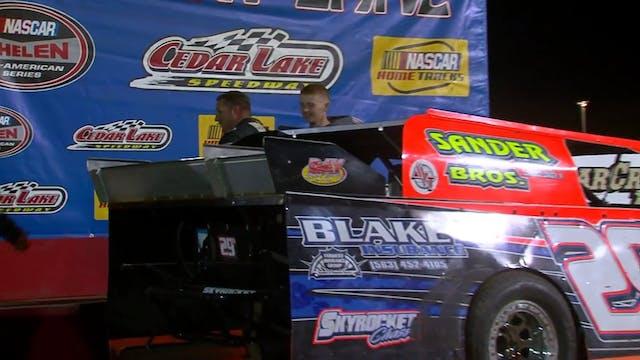 USMTS A Main Cedar Lake Speedway 6/13/14