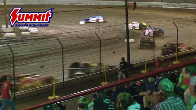 Summer Nationals Mod A-Main Sycamore 6/16/17
