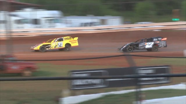 USRA Modified Heats Red Dirt Raceway ...