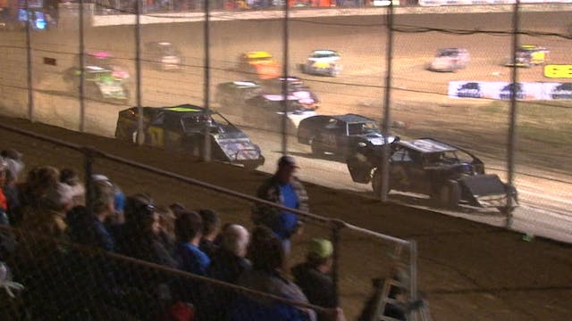 DTWC Modified A-Main  Portsmouth Race...