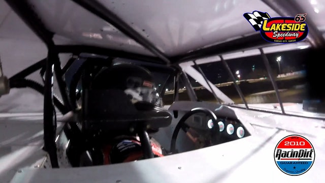 Rodney Sanders In Car USRA Modified Lakeside Speedway 10/30/20