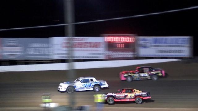 Usra Stock Car Heats I-35 Speedway 10-19-18
