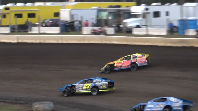 USRA B-Mod Nationals Heat Session 1 Mississippi Thunder Speedway 9/7/17